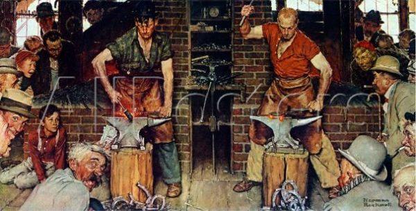 Rockwell Blacksmiths Boy e1514852283984 ART BRIEF