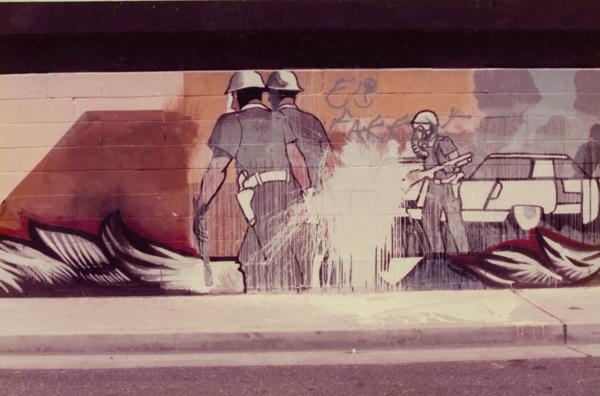 Sergio OCadiz 002 Culture Coverup: L.A. Chicana/o Murals under Siege