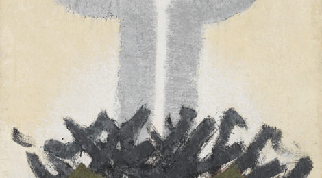 Tetsuo Ochikubo, All Things Exist, c.1960–70, oil on canvas, Honolulu Museum of Art, bequest of Patches Damon Holt, 2003, ©2017 Reproduced by Permission of Jeanie Ochikubo and Estate of Tetsuo Ochikubo.