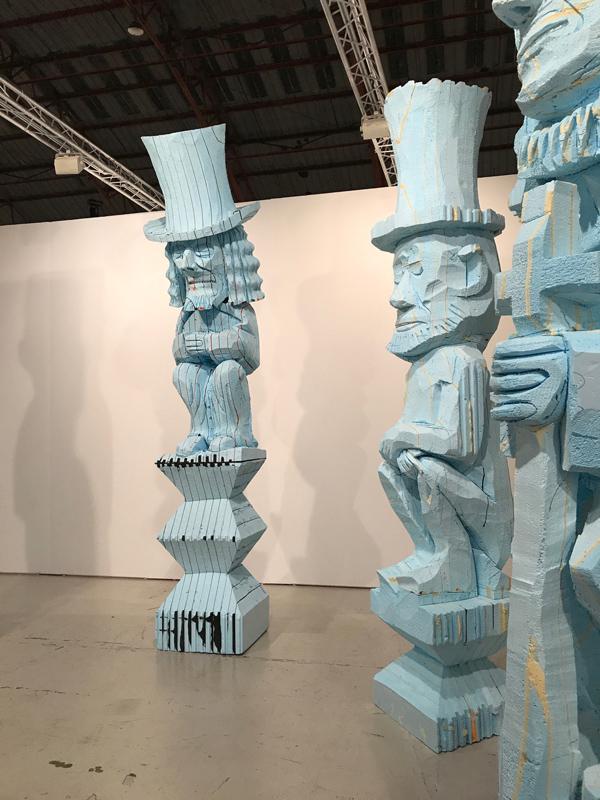 totem A Sea of Art Afloat at SoCals Art Fairs