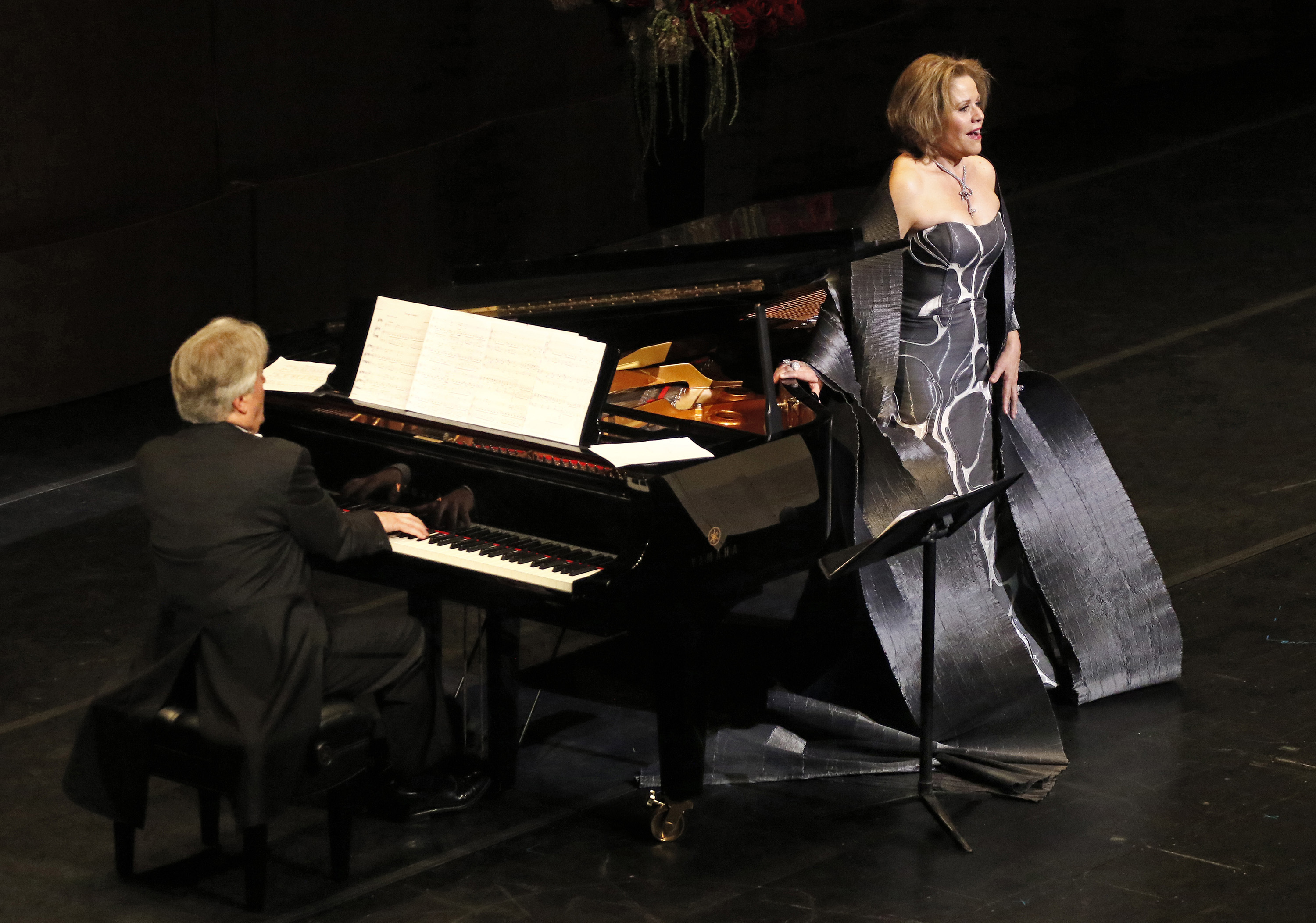 LOS ANGELES, CA. FEB. 06, 2018. Soprano Renée Fleming (Photo Credit: Lawrence K. Ho)