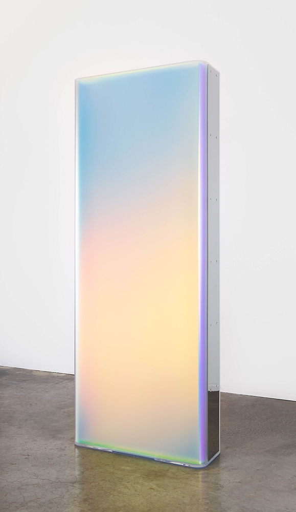 thumb gisela colon light slab 2017 blow molded acrylic and polished stainless steel 96 x 38 x 14 inches 1 jpg detail q98 web <h6 class=sub> Diane Rosenstein Gallery: </h6> <h1 class=post title entry title> Gisela Colon </h1>
