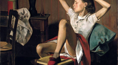 Balthus, Therese Dreaming, 1938.