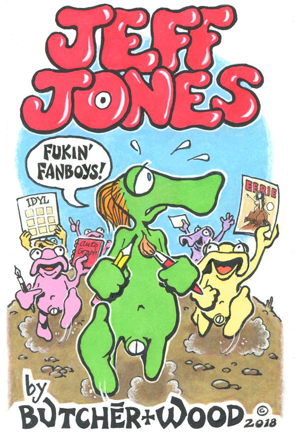 comix JeffJonesfeatures Comics