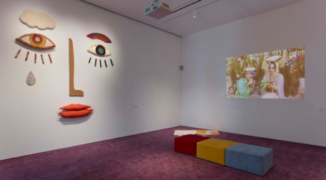 Jade Gordon and Megan Whitmarsh, Installation view, Made in L.A. 2018, June 3-September 2, 2018, Hammer Museum, Los Angeles. Photo: Brian Forrest.