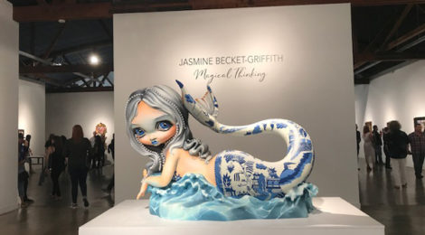 "Jasmine Beckett Griffith's new series ""Magical Thinking"" at Corey Helford Gallery"