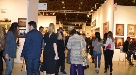 Opening night at Photo LA, photo by Lynda Burdick.