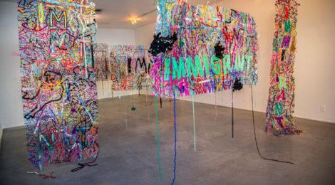 INcongruence, (installation modules), photo by Baha Danesh.