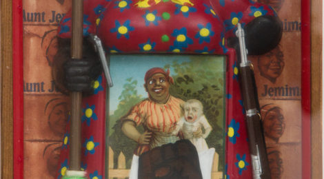 Betye Saar,The Liberation of Aunt Jemima (1972), courtesy UC Berkeley Art Museum.