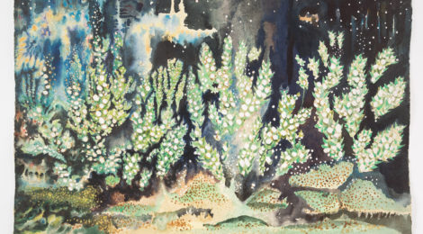 Sara Kathryn Arledge, Stellar Garden (1956), courtesy Armory Center for the Arts.