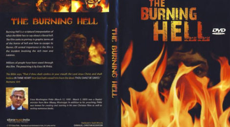 Burning Hell mail order DVD cover