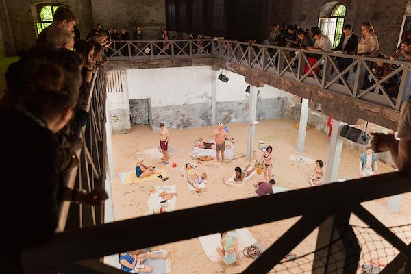 Lithuanian Pavilion at the 58th Venice Biennale, 2019.