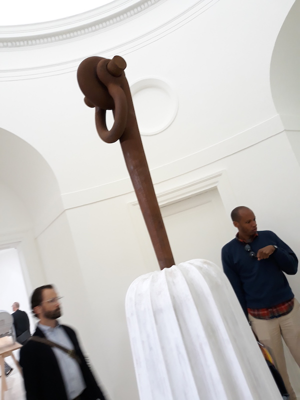 2 Puryear A Column for Sally Hemings copy APOCALYPSE NOW: Venice Biennale