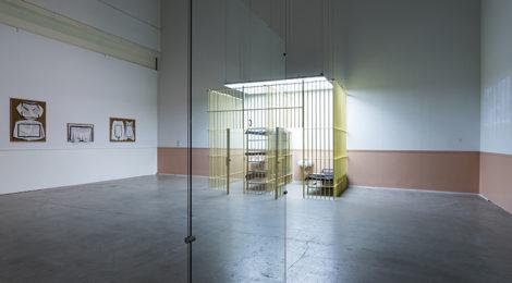 Tony Conrad, Retrospective, installation view (2019) courtesy The Institute of Contemporary Art at the University of Pennsylvania.