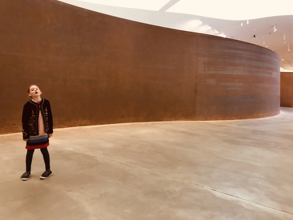 Eloise & Richard Serra the Guggenheim Bilbao.