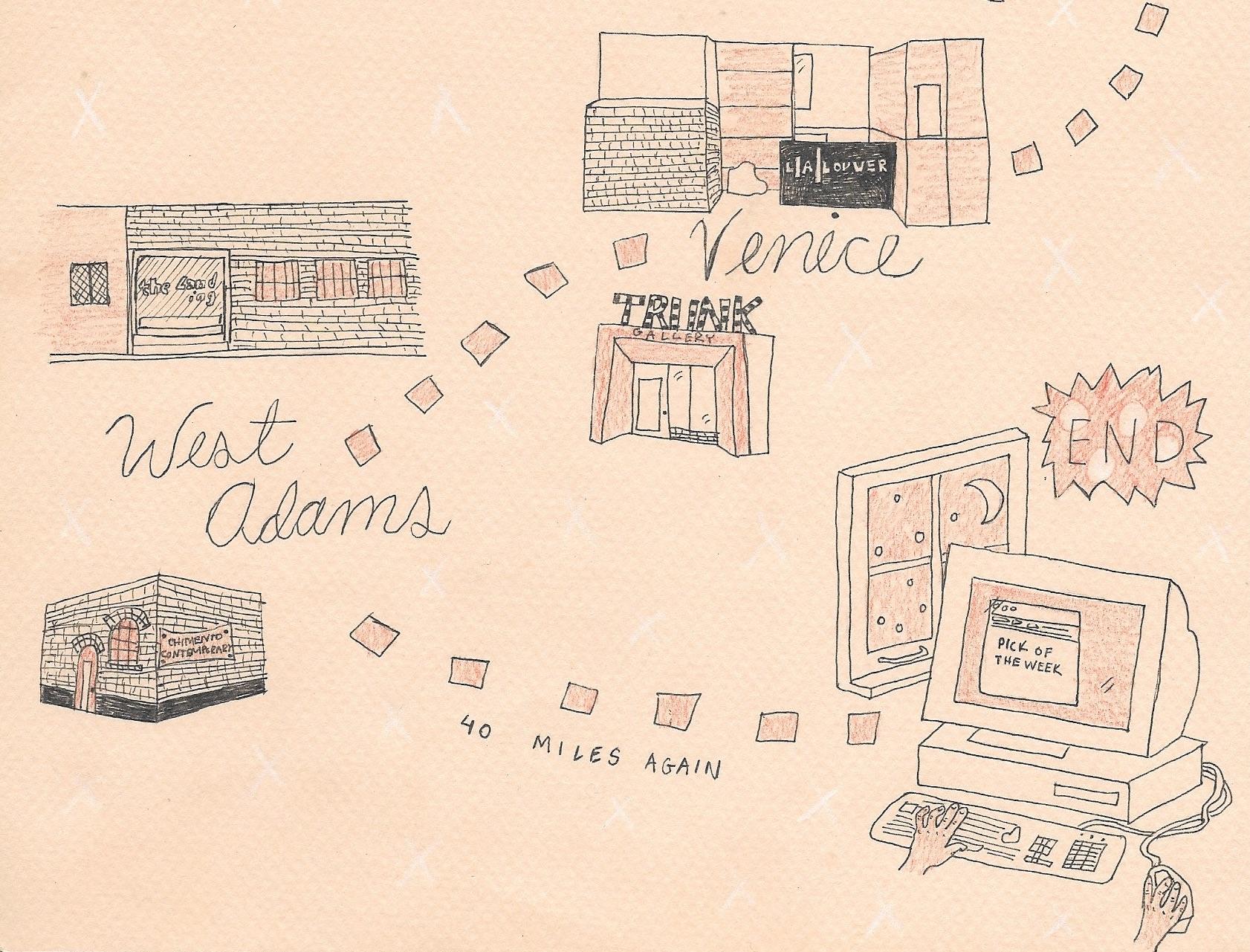 Illustration by Frances Cocksedge.