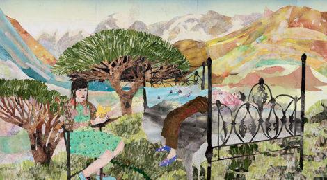 María Berrío.Anemochory, 2019, courtesy Kohn Gallery