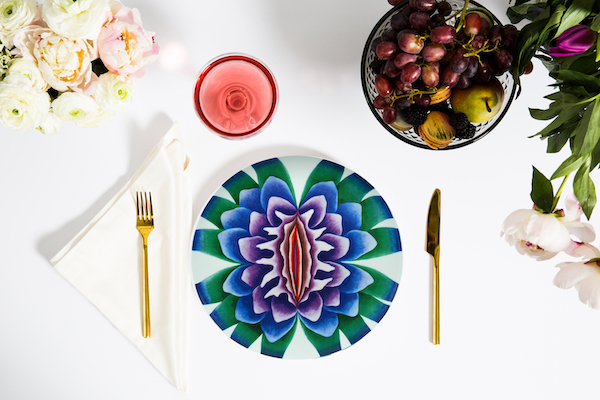 Prospect NY Sappho PlaceSetting Taking a Piece of Chicago Home in LA