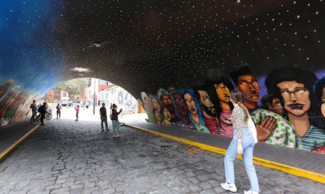 Street Art in Lima. Photo: AC Marriot Lima © Victor Idrogo