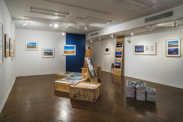 """""""Ashley Hunt: Degrees of Visibility"""" at Lenzner Family Art Gallery, 2019"""